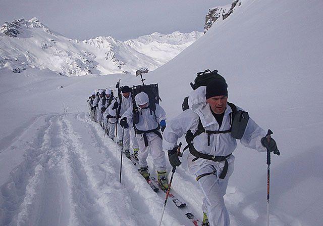 Polscy żołnierze ćwiczyli w Alpach - zdjęcia