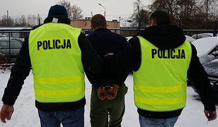 Śląskie. 47-letni mieszkaniec Będzina podejrzany jest m.in. o zgwałcenie swojej 52-letniej konkubiny.