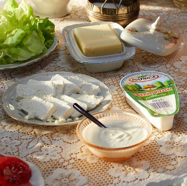 Śniadanie z produktami z Piątnicy