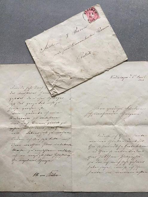 W trakcie remontu Pałacu Kamieniec znaleziono prywatną korespondencję