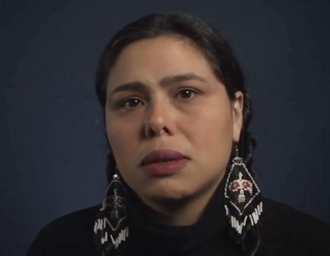 Rdzenna Amerykanka zapytana o Kolumba