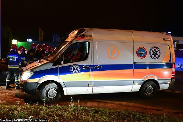 Poznań. Pieszy na autostradzie A2. Policjanci nie zdążyli przed wypadkiem