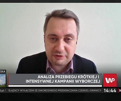 Wybory 2020 r. Politolog Barłomiej Biskup ocenia straty, jakie poniósł Andrzej Duda przez Łukasza Szumowskiego