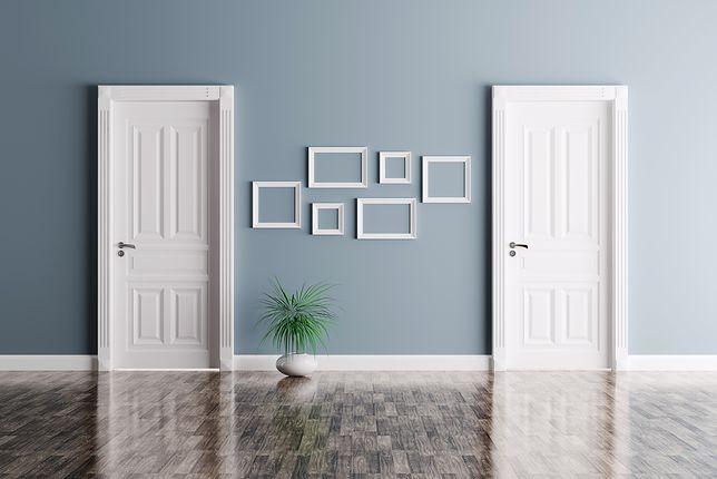 Drzwi mogą współgrać lub kontrastować z resztą wnętrza