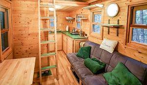 7 domów mniejszych niż twoja sypialnia. Niezwykłe miejsce do życia
