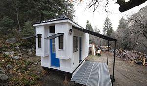 Projekt naprawdę małego domu. Wygodny mikrus