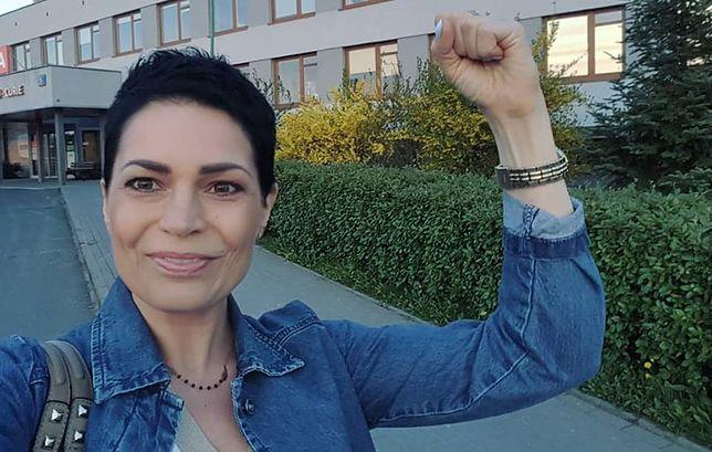 Joanna Górska, dziennikarka Polsatu, wygrywa walkę z nowotworem