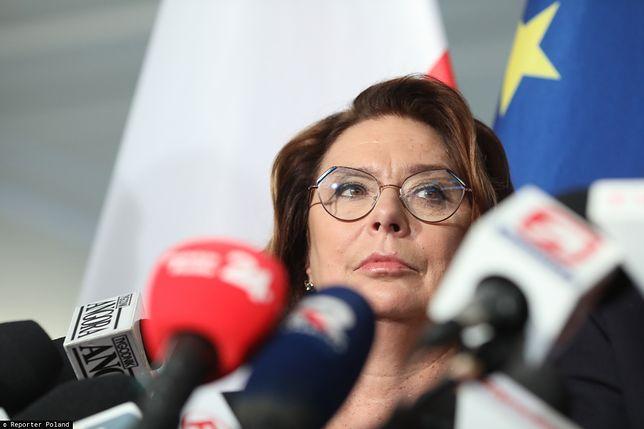 Małgorzata Kidawa-Błońska, kandydatka PO na prezydenta.
