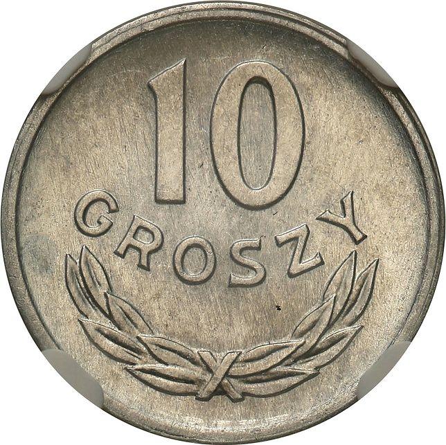 10-groszówka z PRL warta 20 tys. zł