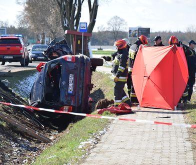 W wypadku pod Ostrołęka zginęło dwoje dzieci