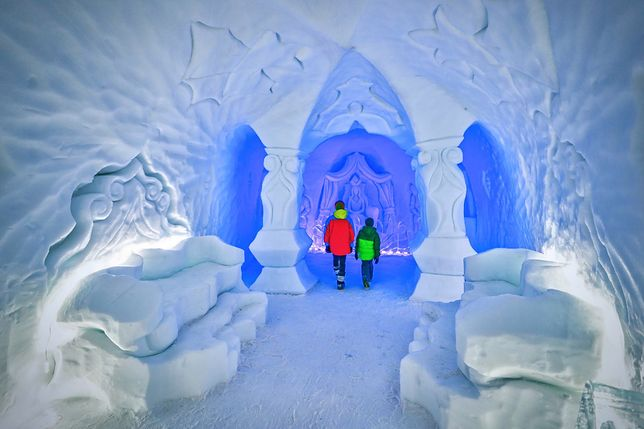 Najnowszą atrakcją Snowlandii jest Pałac Królowej Śniegu