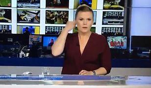 Prezenterka TVN24 zaliczyła wpadkę na antenie