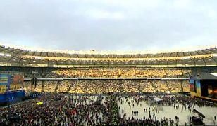 Debata kandydatów na Stadionie Olimpijskim w Kijowie