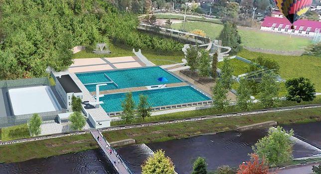 Śląskie. Już w lecie mieszkańcy Wisły i turyści prawdopodobnie będą się mogli kąpać w miejskich basenach.