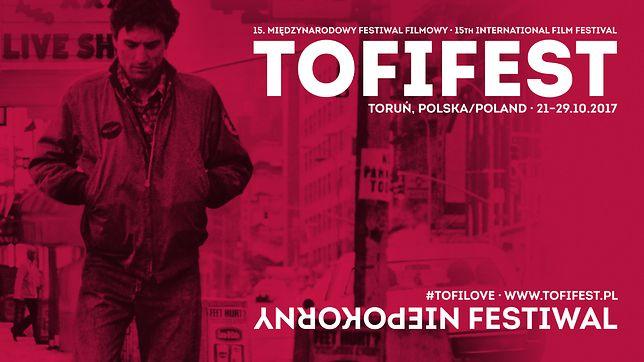 Plakat promujący Międzynarodowy Festiwal Filmowy Tofifest