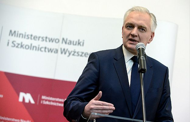 Minister nauki i szkolnictwa wyższego Jarosław Gowin