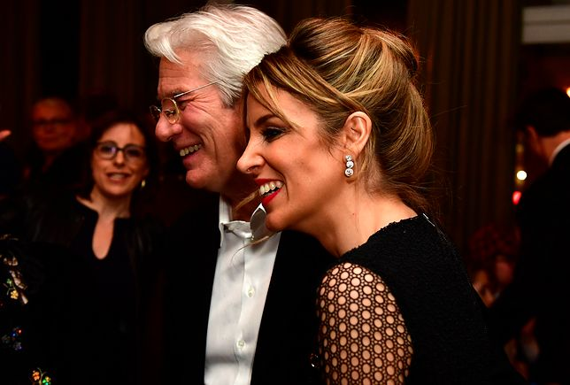 Richard Gere i Alejandra Silva
