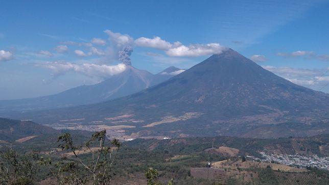 W Gwatemali wulkany są magnesem na turystów. Jest ich na terenie kraju blisko 40