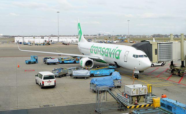 Awaryjne lądowanie samolotu linii Transavia w Portugalii
