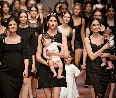 Pokaz kolekcji Dolce & Gabbana dedykowany wszystkim matkom