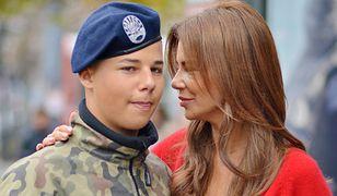 Syn Edyty Górniak uczy się w szkole wojskowej