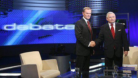 Najważniejsza debata tej kampanii - Tusk kontra Kaczyński