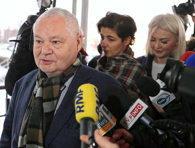 Prezes Adam Glapiński i dyrektor Martyna Wojciechowska (z prawej)