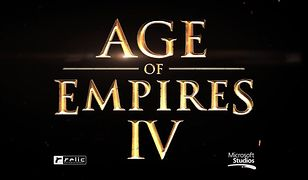 """Logo gry """"Age of Empires IV"""""""