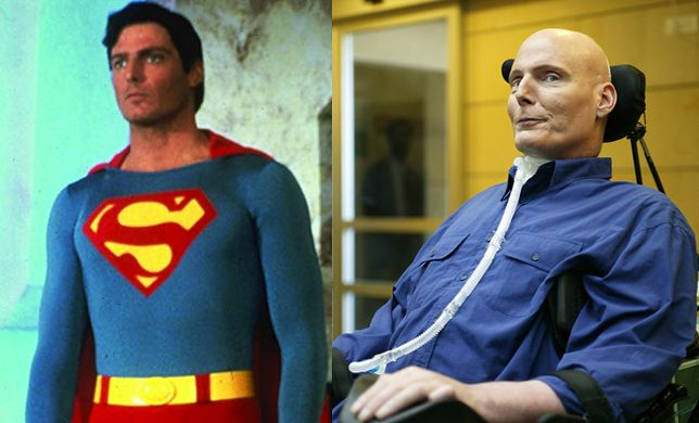 Christopher Reeve grał Supermana w filmach z lat 70. i 80.