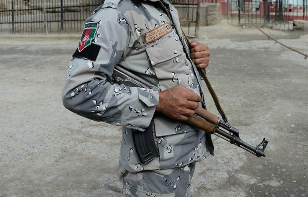 Zamach w Afganistanie. 11 policjantów zginęło z rąk kolegi powiązanego z talibami