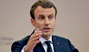 Macron zabrał głos ws. skandalu