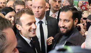Emmanuel Macron i Alexandre Benalla