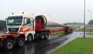 Zatrzymane pojazdy miały długość od 35 do 43 m