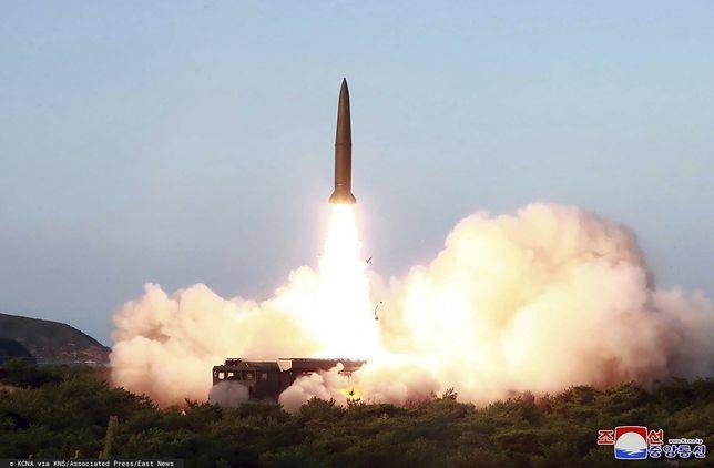 Korea Północna przeprowadziła test rakietowy