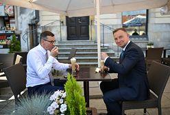 Andrzej Duda i Mateusz Morawiecki wybrali się na lody