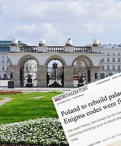 Zagraniczna prasa pisze o planach odbudowy Pałacu Saskiego. Przypomniano ważny fakt