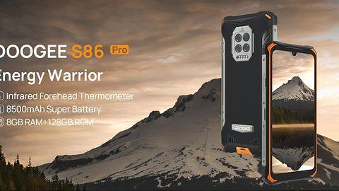 DOOGEE S86 Pro wzbogacony o funkcję termometru