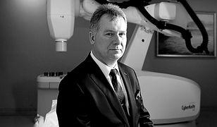 Nie żyje prof. Leszek Miszczyk. Znany onkolog zginął na Śląsku