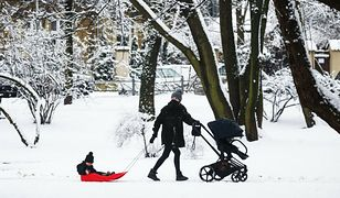 Pogoda. Białystok zasypany śniegiem