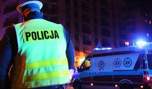Białystok. Potrącił mężczyznę z dzieckiem i uciekł. Trwają poszukiwania