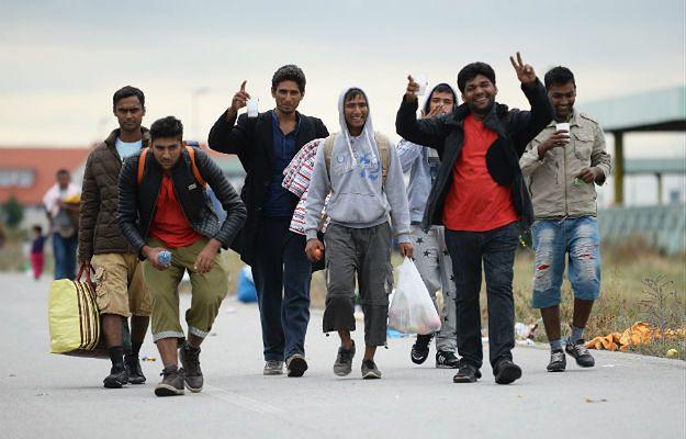 Uchodźcy przybyli do Europy