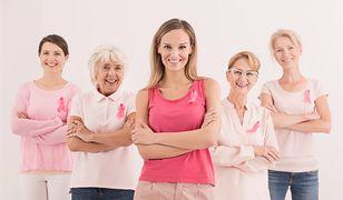 Europejski Dzień Walki z Rakiem Piersi kojarzy się z różową wstążką. Podczas eventów noszą je osoby, które pokonały chorobę.