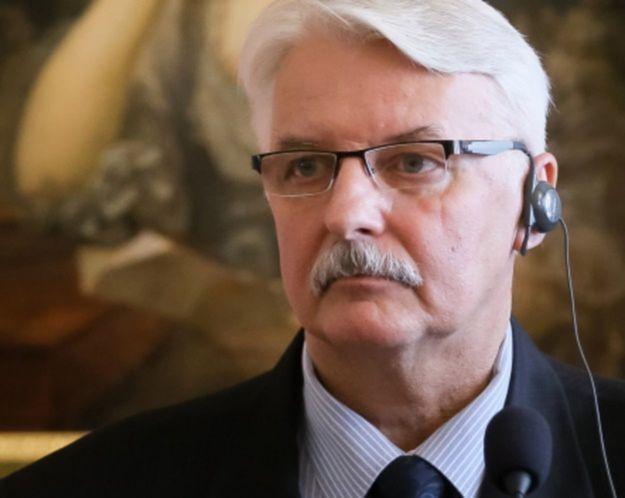 Witold Waszczykowski: nie wykluczamy, że wprowadzimy kontrole graniczne