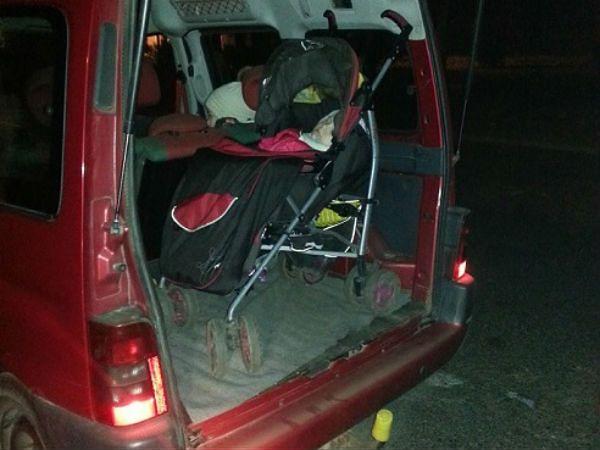 Pijana matka wiozła 3-letnią córkę w bagażniku