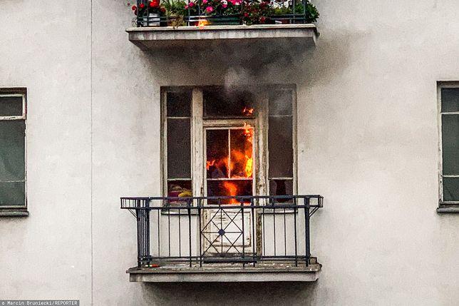 Marsz Niepodległości. Podpalone mieszkanie to pracownia znanego artysty