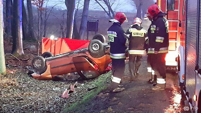 Tragiczny wypadek w Babim Dole. Nie żyje 21-latka