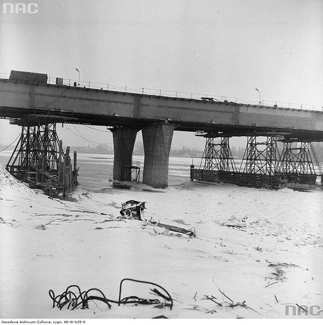 Tak budowano most Łazienkowski [GALERIA]