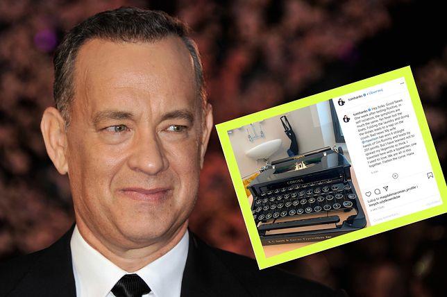 Tom Hanks i Rita Wilson tydzień temu uzyskali pozytywny wynik testu na obecność COVID-19