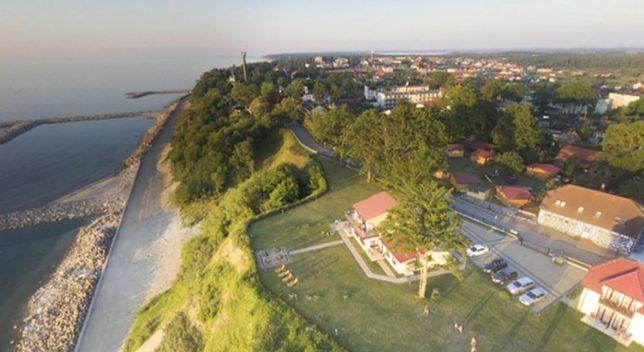 Klif w Jarosławcu po osunięciu ziemi w 2011 r.