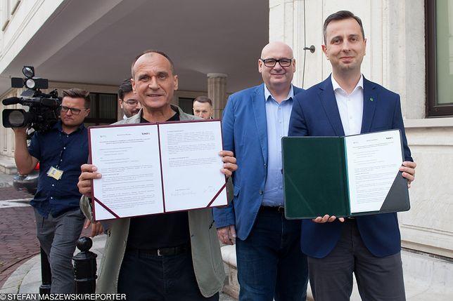 Paweł Kukiz (Kukiz'15) i Władysław Kosiniak-Kamysz (PSL).